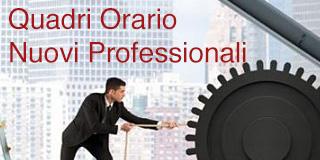 Consulta i documenti con i Quadri Orario Nuovi Professionali